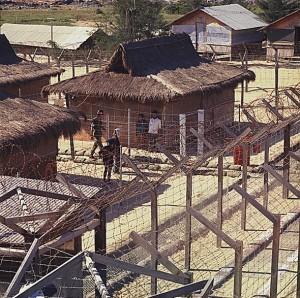 US Prisoner of war camp at Chu Lai 1968
