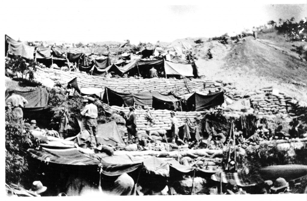 Anzac_Cove_encampment_1915