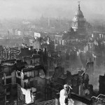 London and St Paul's after the blitz